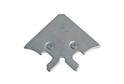 Уголок для Витринного профиля RF 06 Хром