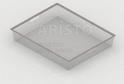 Корзина на 1 рельс (527*427*85 мм) GSA 0271 Металлик