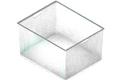 Корзина на 3 рельса GSA0273/W (527*427*285 мм) Белая