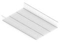 Полка-корзина GSA 0335-РК1/W (405*607*96 мм) Белая