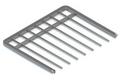Выдвижная вешалка для брюк GSA 0337 (536*430 мм) Металлик