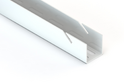 Навесная направляющая GSA 0284/W (2300 мм) Белая