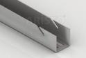 Настенная направляющая GSA 0284 (2300 мм) Металлик