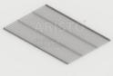 Полка GSA 0286 (405*607 мм) Металлик