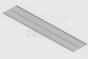 Полка GSA 0287    (305*1815 мм) Металлик
