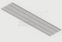 Полка GSA 0288 (405*1815 мм) Металлик