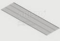 Полка GSA 0289 (494*1815 мм) Металлик