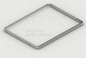 Выдвижная рамка для корзин GSA 0299 (536*430 мм) Металлик
