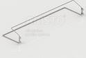 Полка для обуви одноярусная GSA 0304 (605*90 мм) Металлик