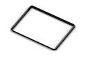 Выдвижная рамка для корзин GSA0299/B Черная