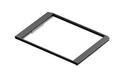 Выдв-я рамка для корзин с доводчиком, GSA0371/B Черная