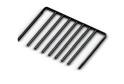 Выдвижная вешалка для брюк GSA 0337/B (550*460 мм) Черная