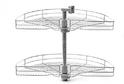 Lotti 800 мм карусель 3/4 D 710, LS2.3/4.CP арт. 48769