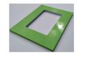 Фасад-витрина пластик глянец в кромке ABS