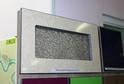 Фасад-витрина пластик глянец в кромке 3D акрил
