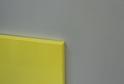 Фасад пластик желтый глянец в кромке ABS в цвет фасада