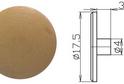 Заглушка эксцентрика №16 арт.4258
