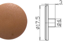 Заглушка под шестигранник №1 арт.3620