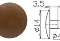 Заглушка под шестигранник №10 арт.4085