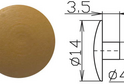 Заглушка под шестигранник №11 арт.3626
