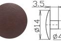 Заглушка под шестигранник №12 арт.3627