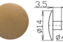 Заглушка под шестигранник №16 арт.3630