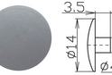 Заглушка под шестигранник №18 арт.3631