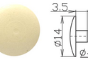 Заглушка под шестигранник №20 арт.4273