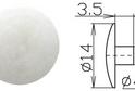 Заглушка под шестигранник №23 арт.3633