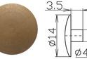 Заглушка под шестигранник №4 арт.3621