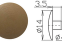 Заглушка под шестигранник №5 арт.3622