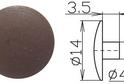 Заглушка под шестигранник №7 арт.3624