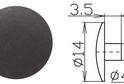 Заглушка под шестигранник №9 арт.3625