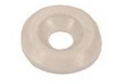 Пластиковая шайба под винт М4 белая арт.2949