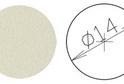 Заглушка самокл. D=14 бежевая (50шт) арт.4628