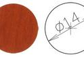 Заглушка самокл. D=14 груша (50 шт) арт.4639