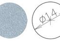 Заглушка самокл. D=14 металлик (50 шт) арт.4625
