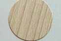Заглушка самокл. D=13 ясень шимо светлый (117 шт) арт.D13U3127