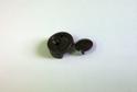 Зеркалодержатель пластмассовый 4 мм коричневый арт.3235