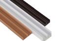 Профиль напр. Ш-обр. 2м белый/коричневый/охра, арт.292/276/642