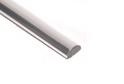 Профиль под серебро 7 мм, 2 м плоский , арт.11
