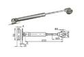 Газовый кронштейн 50-60N арт.3102