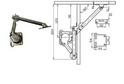 Кронштейн мех-й LS01 левый/правый арт.2434/2435