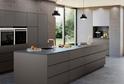 Кухня Rehau серый камень