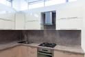 Кухня AGT белый + капучино глянец в кромке ABS