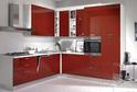 Кухня AGT Красный глянец в кромке ABS