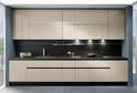 Кухня AGT Бежевый матовый в кромке ABS