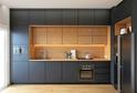 Кухня AGT Серый матовый в кромке ABS