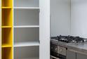 Кухня AGT белый + графит матовый в кромке ABS