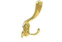 Крючок 3-х рожковый золото арт.5903